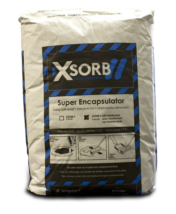 XSORB Plus Disinfecting Encapsulator Bag 1.75 cu. ft. - 1 BAG