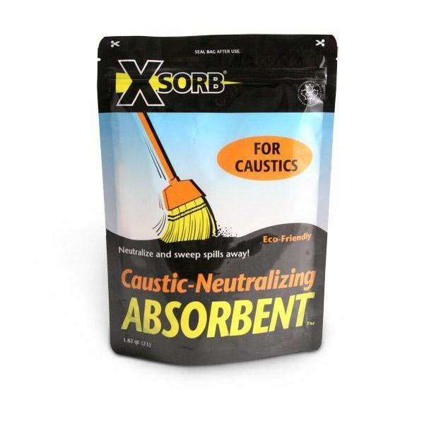 XSORB Caustic Neutralizing Absorbent 2 Liter Bag - 6/CASE