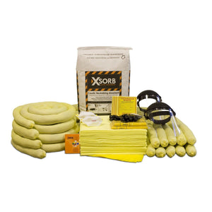 XSORB Caustic Neutralizing 55 gal Spill Response Kit - 1 DRUM