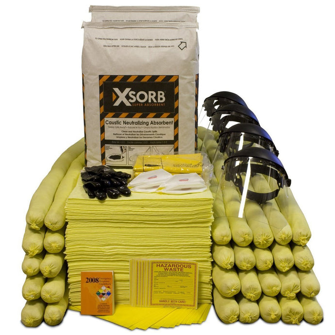 XSORB Caustic Neutralizing 95 gal Spill Response Kit - 1 OVERPACK
