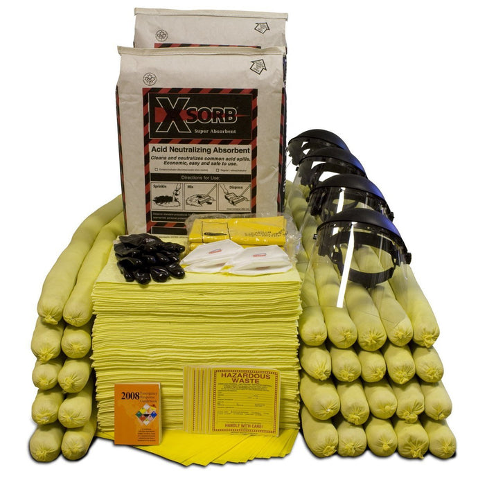 XSORB Acid Neutralizing 95 gal Spill Response Kit - 1 OVERPACK