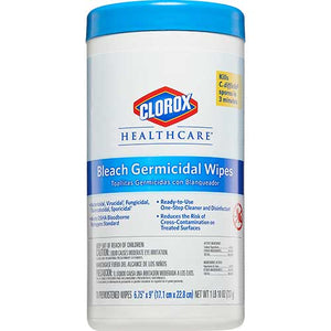Clorox Healthcare® Bleach Germicidal Wipes Canister (70 Wipes)