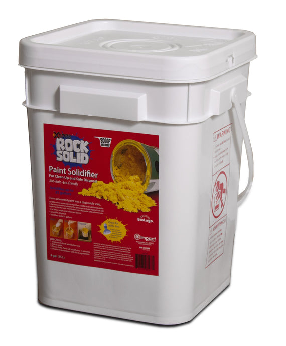 XSORB Rock Solid Paint Hardener Pail 4 gal. with Scoop - 1 PAIL