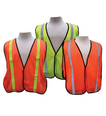 "3A Safety All-Purpose Mesh Vest 1"" Vertical Stripe"