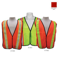 Load image into Gallery viewer, 3A Safety - All-Purpose Mesh Safety Vest - 2 inch wide PVC tape