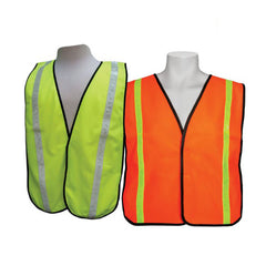 "3A Safety - All-Purpose Tight Mesh Safety Vest - 1"" PVC Stripe"