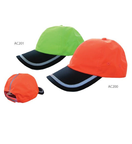 3A Safety High Visibility Ball Caps