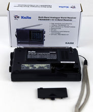 Load image into Gallery viewer, Kaito KA268 12 Band World Receiver with AM/FM and 10 Shortwave Bands 3.8 Mhz - 22Mhz