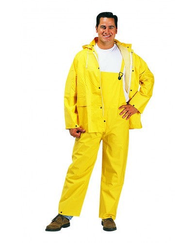 Liberty - Durawear 2 Layer Pvc/Polyester 3-Piece Yellow Rainsuit