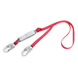 DBI/SALA 6' Protecta PRO Shock Absorbing Lanyard With Self Locking Snap Hooks On Both Ends