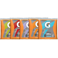 Gatorade 21 Ounce Instant Powder Pouch - Yields 2.5 Liquid Gallons (32 Packages)