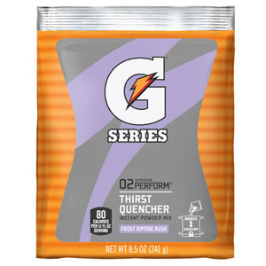 Gatorade 8.5 Ounce Instant Powder Pouch - Yields 1 Gallon (40 Packets Per Case)