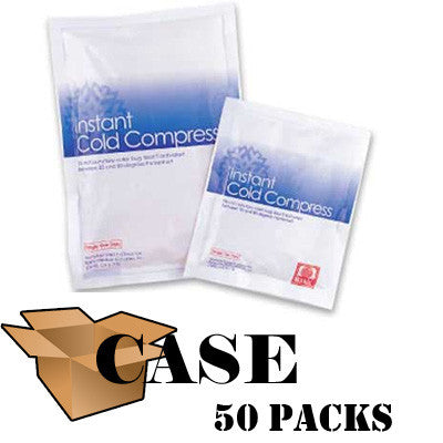"Instant Ice Pack 6"" x 9"" - Case (50 Packs)"