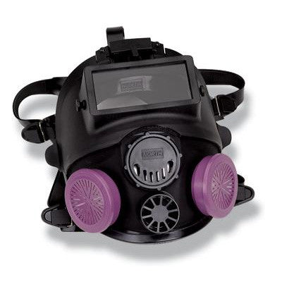 North - Silicone 7600 Series Full Face Facepiece With Welding Attachment