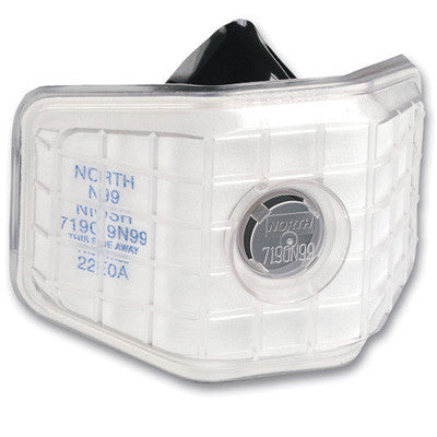 North - 7190 N99 Half Mask Welding Air Purifying Respirator