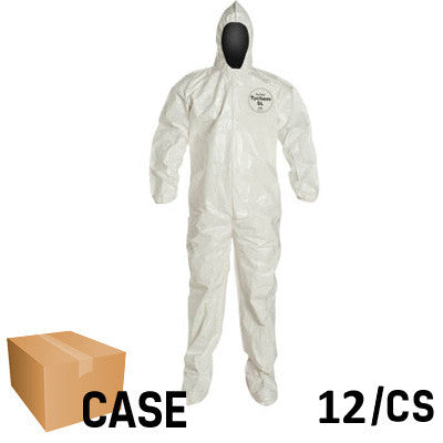 DuPont - Tychem SL Coverall with Hood - Case
