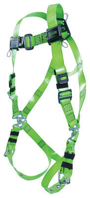 Miller - Universal Green Vinyl-Coated Revolution Harness with belt and D-Rings