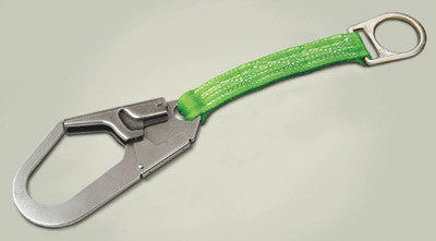 "Miller - 19"" Green Web Anchorage Connector With 2 1/2"" Rebar Hook And D-Ring"