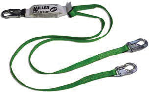 Miller - 6' Green Two Leg Lanyard