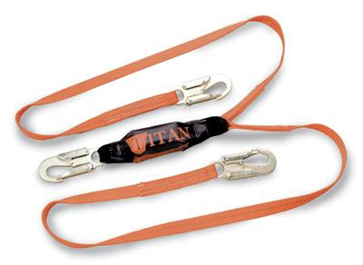 Miller - Titan 6' Two-Legged Shock-Absorbing Lanyard