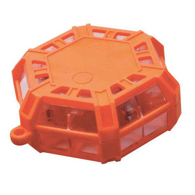 Rechargaeble Super LED Road Flare Orange