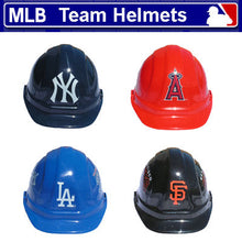 Load image into Gallery viewer, MLB Team Logo Safety Helmet Hard Hat