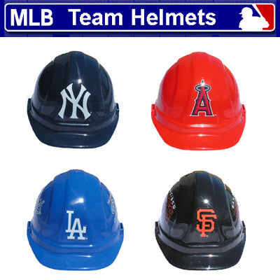 MLB Team Logo Safety Helmet Hard Hat