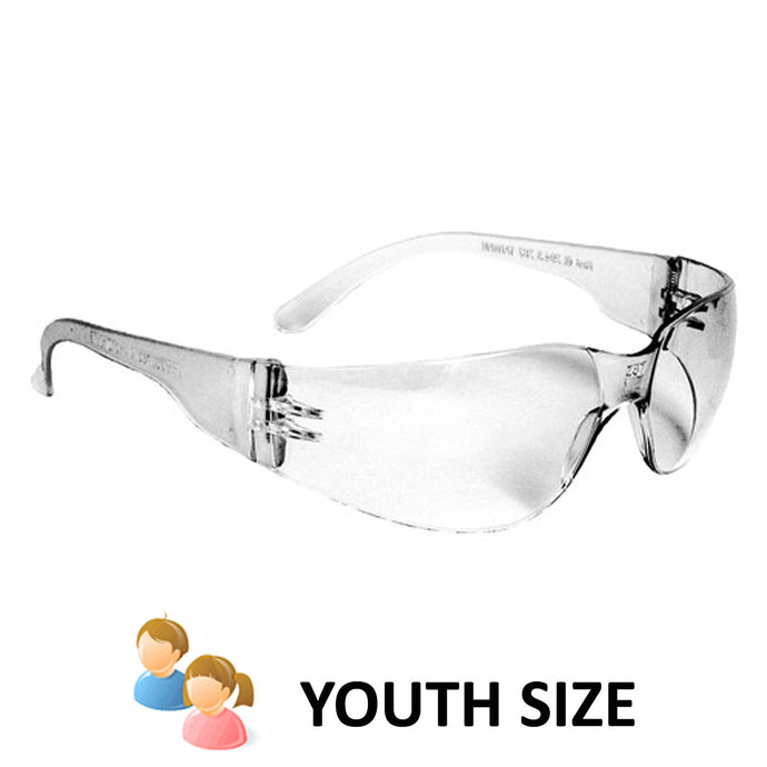 Radians - Mirage Small Safety Eyewear - Clear Indoor/Outdoor Lens