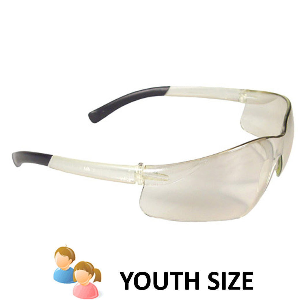 Radians - Rad-Atac Small Safety Eyewear - Clear Indoor/Outdoor Lens