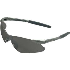 Jackson Nemesis Safety Glasses Gun Metal Frame Smoke Lens