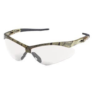 Jackson Nemesis Safety Glasses Camo Frame - Clear Lens