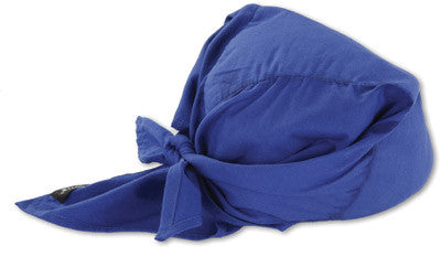 Ergodyne Evaporative Cooling Triangle Hat - Blue