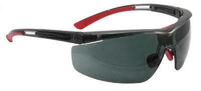 North By Honeywell Safety Glasses With Black Frame And Smoke 4A Anti-Fog, Anti-Static And Anti-Scratch Lens (10 Pairs)