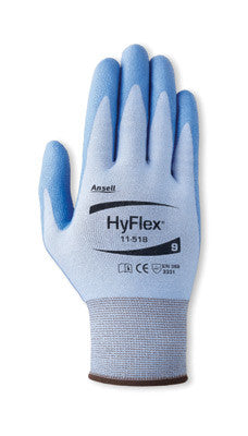 Ansell HyFlex Coated Work Gloves with White Dyneema