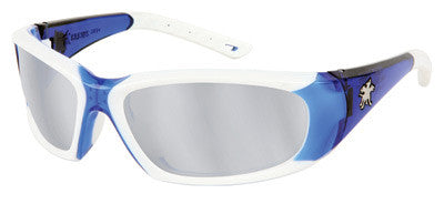 Crews Force Flex Safety Glasses Silver Mirror Lens