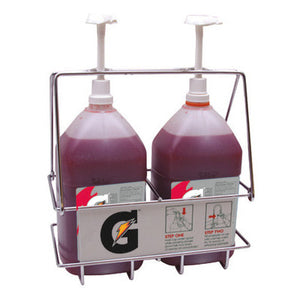 Gatorade Wire Rack Dispenser With Two Pumps