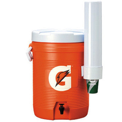 Gatorade 5 Gallon Cooler/Dispenser With Detachable Cone Cup Dispenser
