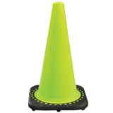 "18"" Lime Safety Cone"