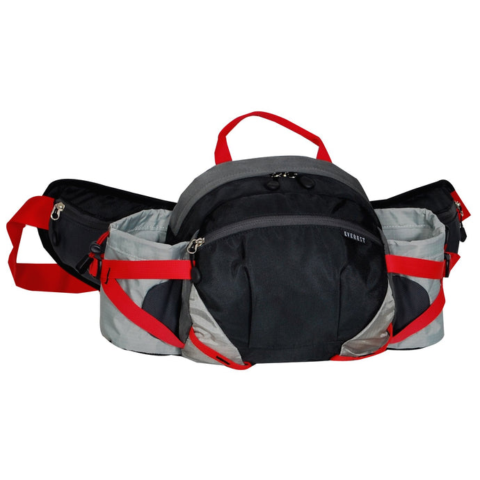 Everest-Outdoor Waist Pack w/ Bottle Holders