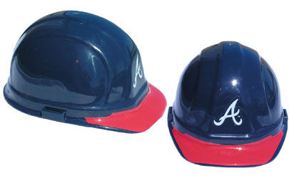 Atlanta Braves - MLB Team Logo Hard Hat Helmet