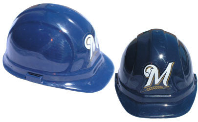 Milwaukee Brewers - MLB Team Logo Hard Hat Helmet