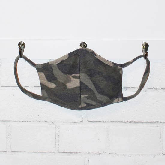 LMC Fabric Face Mask - Camo Olive