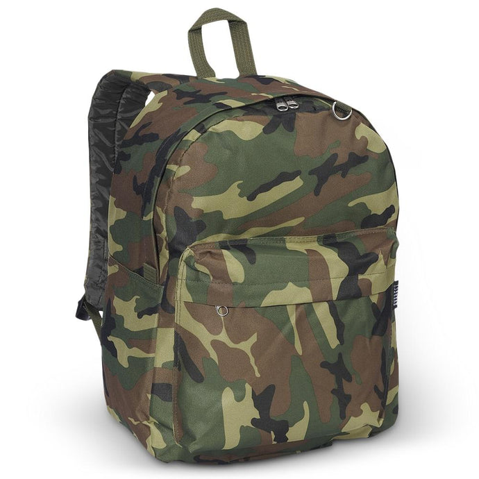 Everest-Classic Camo Backpack