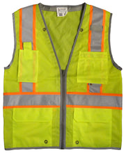 Load image into Gallery viewer, 3A Safety - Heavy duty surveyor's vest