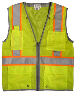 3A Safety - Heavy duty surveyor's vest