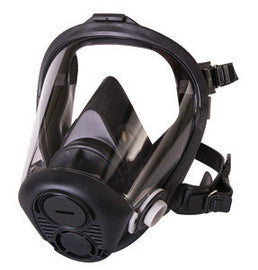 North by Honeywell - RU6500 Series Full Mask APR Facepiece With 5 Point Headstrap And Nosecup