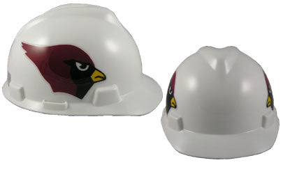 Arizona Cardinals - MSA - NFL Team Logo Hard Hat