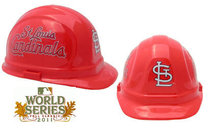 St Louis Cardinals - MLB Team Logo Hard Hat Helmet
