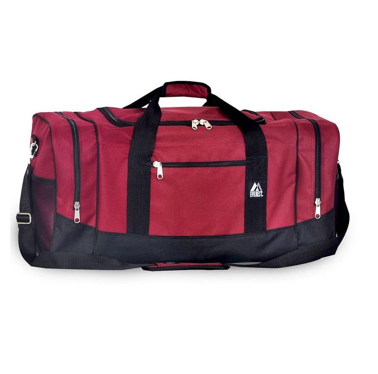 Everest Luggage Sporty Gear Bag - Large - Burgundy