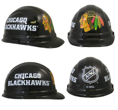 Chicago Blackhawks Nhl Team Logo Hard Hat Esafety